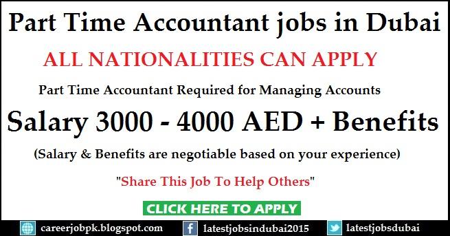 Part Time Accountant jobs in Dubai Restaurant