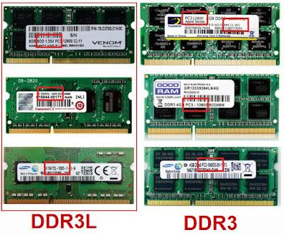 Perbedaan RAM DDR3L dan DDR3 Biasa