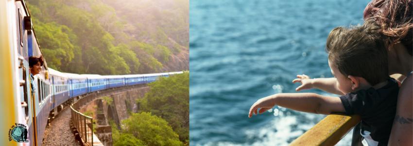 Viaggi in treno, nave o autobus