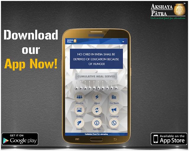 Akshaya Patra Mobile App