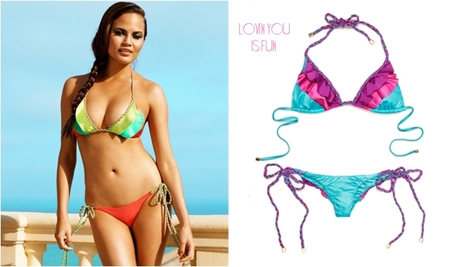 Beach Bunny lovin you is fun bikini