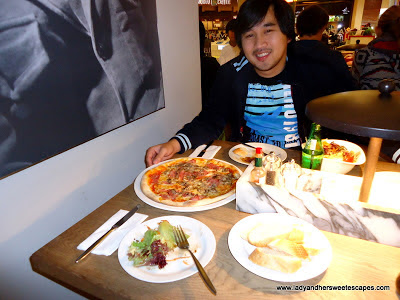 Ed at Vapiano
