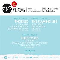 Vida Festival 2017, confirmaciones