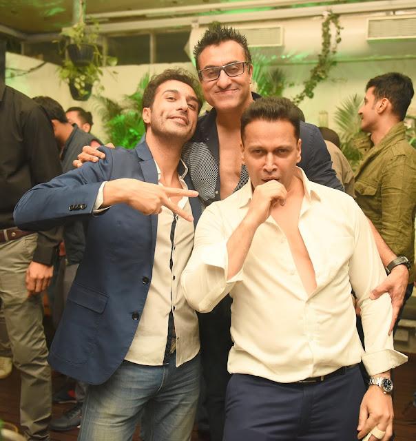 3. Farzan Athari, Mohammed Morani and Swaraaj Kapoor