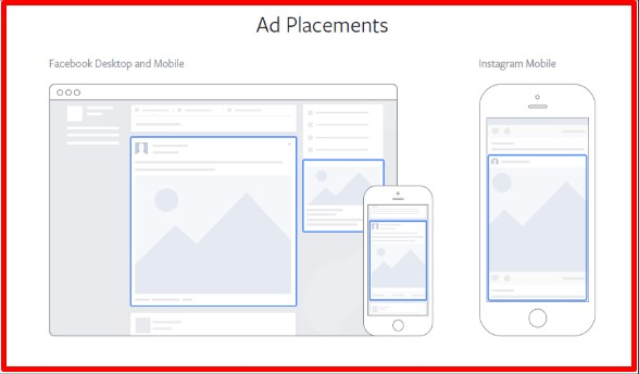 Facebook news feed ad size