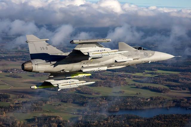 Saab offers Gripen Switzerland