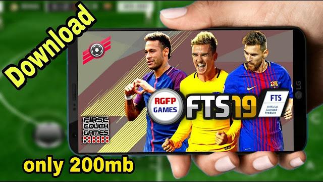 FTS19 Mod Offline Apk Data 200MB تنزيل