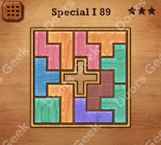 Cheats, Solutions, Walkthrough for Wood Block Puzzle Special I Level 89