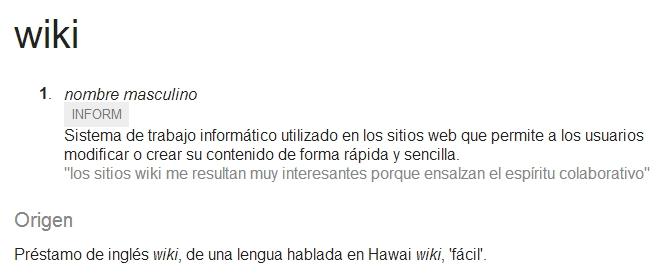 Wiki definición