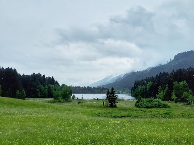 view from a segway in Kitzbühel, Tyrol, Austria