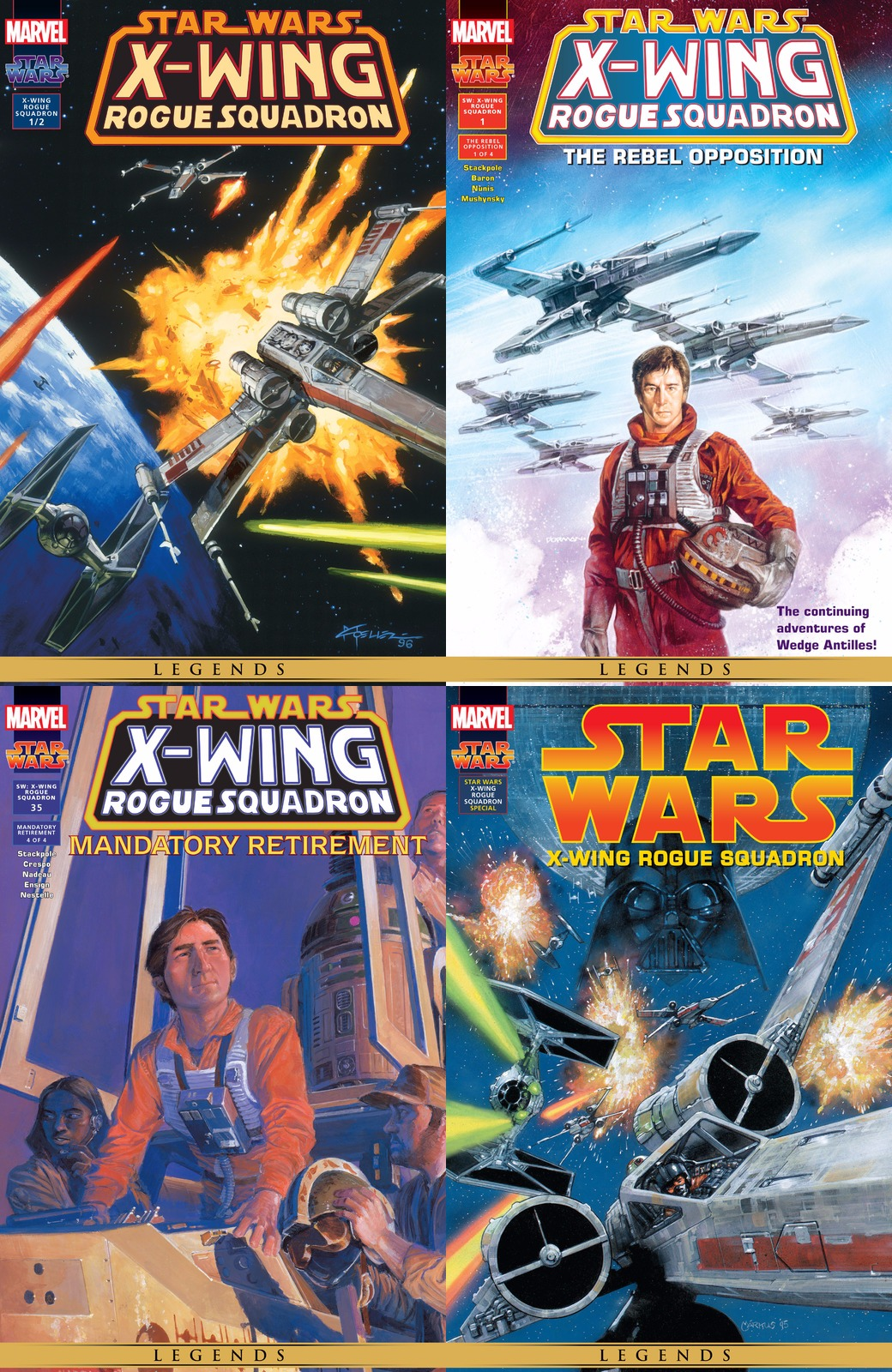 Star Wars - X-Wing Rogue Squadron (000 5-035+Special