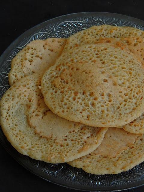 Moroccan Pancakes,Lemkhenfer
