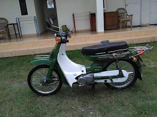 LAPAK MOTOR LAWAS DAN ANTIK : Jual Yamaha Simbah V80 - MADIUN
