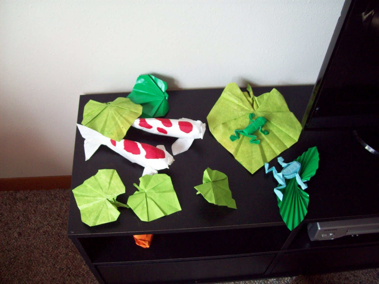 The Midnight Carver: Continuing the Origami Pond - photo#28