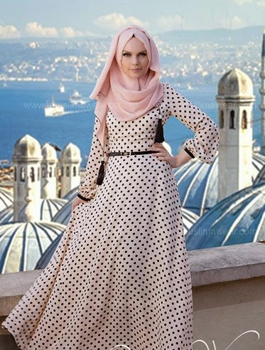 hijab corak sederhana