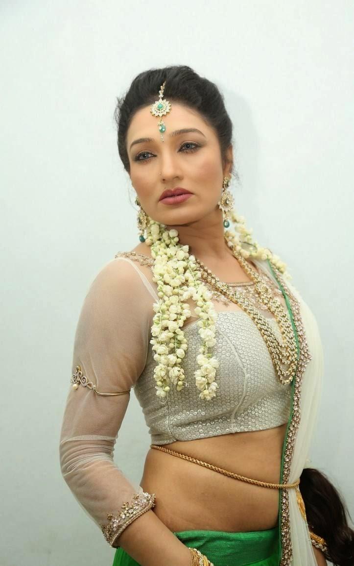 Actress Ramya Sri Stills From O Malli Telugu Movie Audio -2890