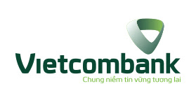 Logo ngân hàng vietcombank vector