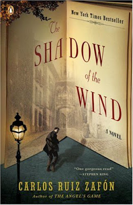 The Shadow of the Wind by Carlos Ruiz Zafon - book cover