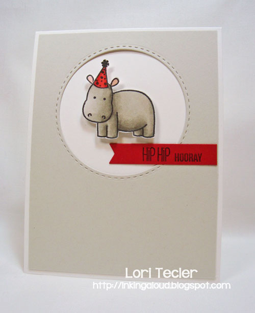 Hip Hip Hooray-designed by Lori Tecler-Inking Aloud-stamps from Sweet Stamp Shop