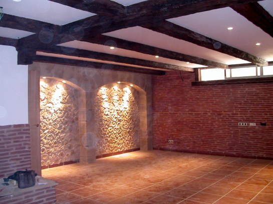 Modernas paredes de piedra kitchen design luxury homes - Imitacion a piedra para paredes ...