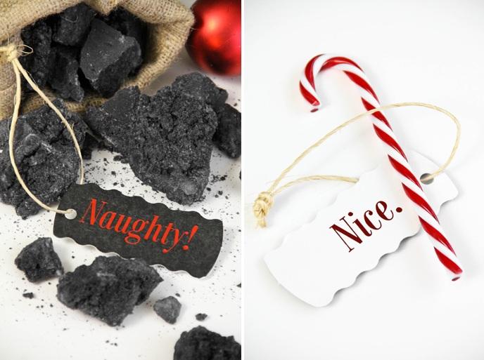 Lump Of Coal For Christmas.Christmas Coal Candy Sprinkle Bakes