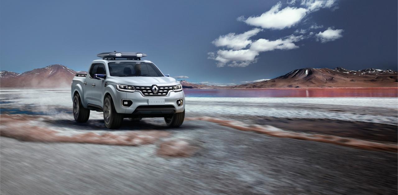 00087662 Η Renault εισέρχεται στην κατηγορία των επαγγελματικών pick-up με το επιβλητικό πρωτότυπο Ζ-U60 Pick-up, Renault, Renault Pro+, Renault Z-U60, Επαγγελματικά