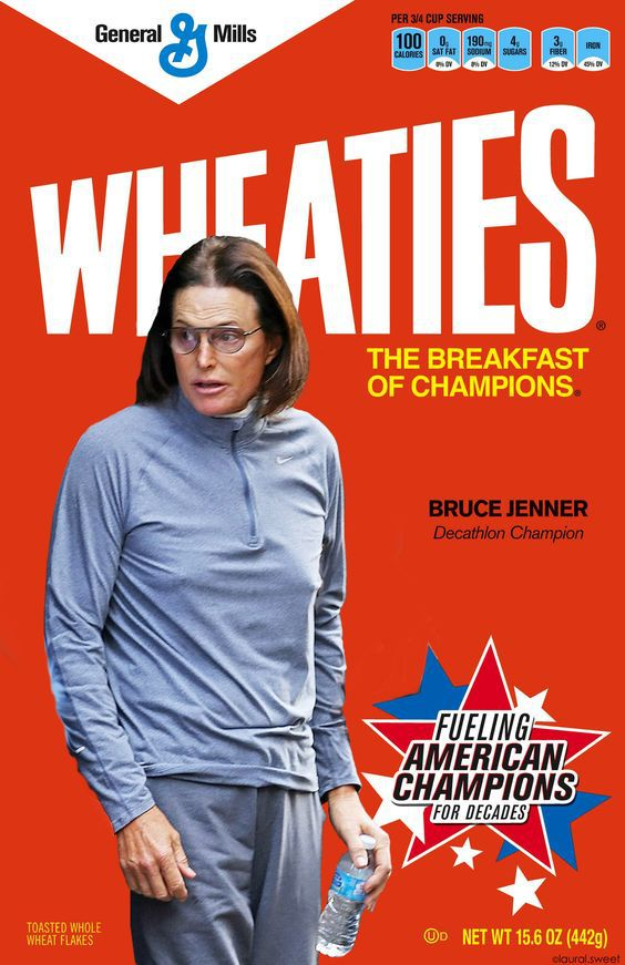 Bruce Jenner Wheaties Boxes Are Selling Out on EBay Time  - bruce jenner wheaties box