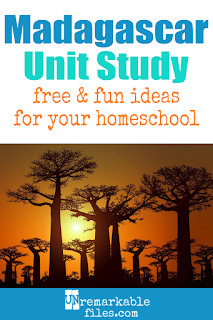 This Madagascar unit study is packed with activities, crafts, book lists, and recipes for kids of all ages! Make learning about Madagascar in your homeschool even more fun with these free ideas and resources. #madagascar #homeschool #unitstudy #aroundtheworld