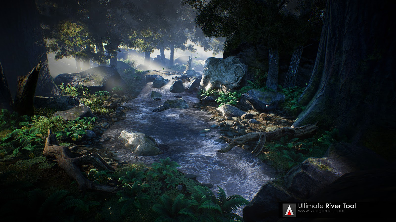 Ultimate River Tool for UE4 - Plugins Reviews and Download free for