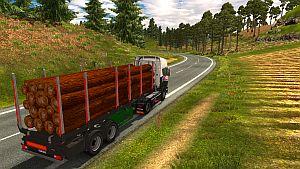 Logs standalone trailer