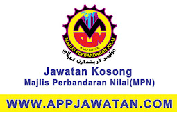 Jawatan Kosong Kerajaan 2017 di Majlis Perbandaran Nilai (MPN) - 31 Ogos 2017