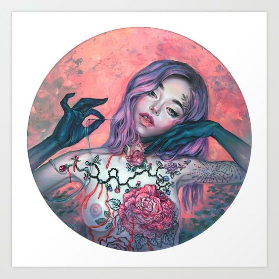 235f869debe6 Art of the Day - Tanya Shatseva