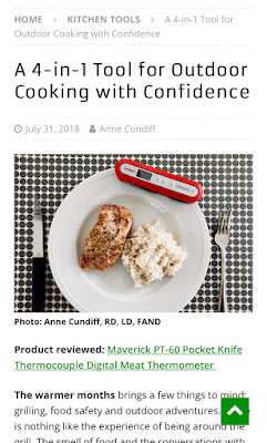 A 4-in-1 Tool for Outdoor Cooking with Confidence - Food and Nutrition Magazin