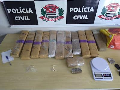 Polícia Civil de Registro-SP apreende 24 kg de drogas e prende 91 pessoas no Vale do Ribeira