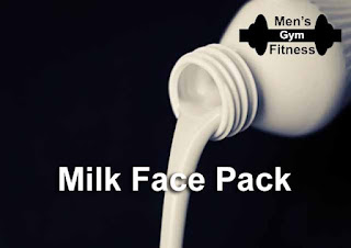 8 Homemade Face Pack Will Make Your Face Glowing & Oil Free In Summer:- Milk Face Pack