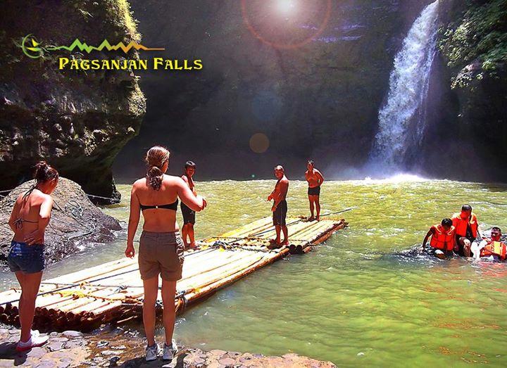 Philippine travel choosing trekking or boat ride for Rainwater falls massage