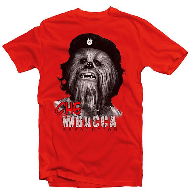 chewbacca tshirt design