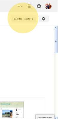Blogspot template-free blogger template