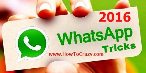 whatsapp hidden tricks 2016