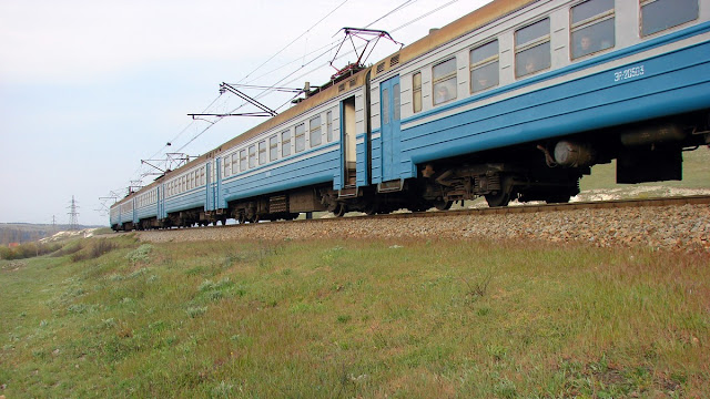Транспорт Крыма - Электричка Симферополь-Севастополь