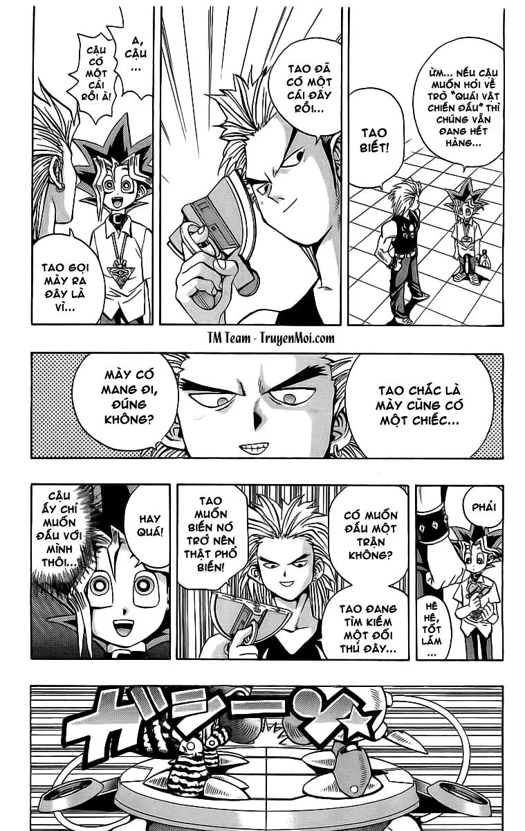 YUGI-OH! chap 43 - quái chiến phần i trang 10