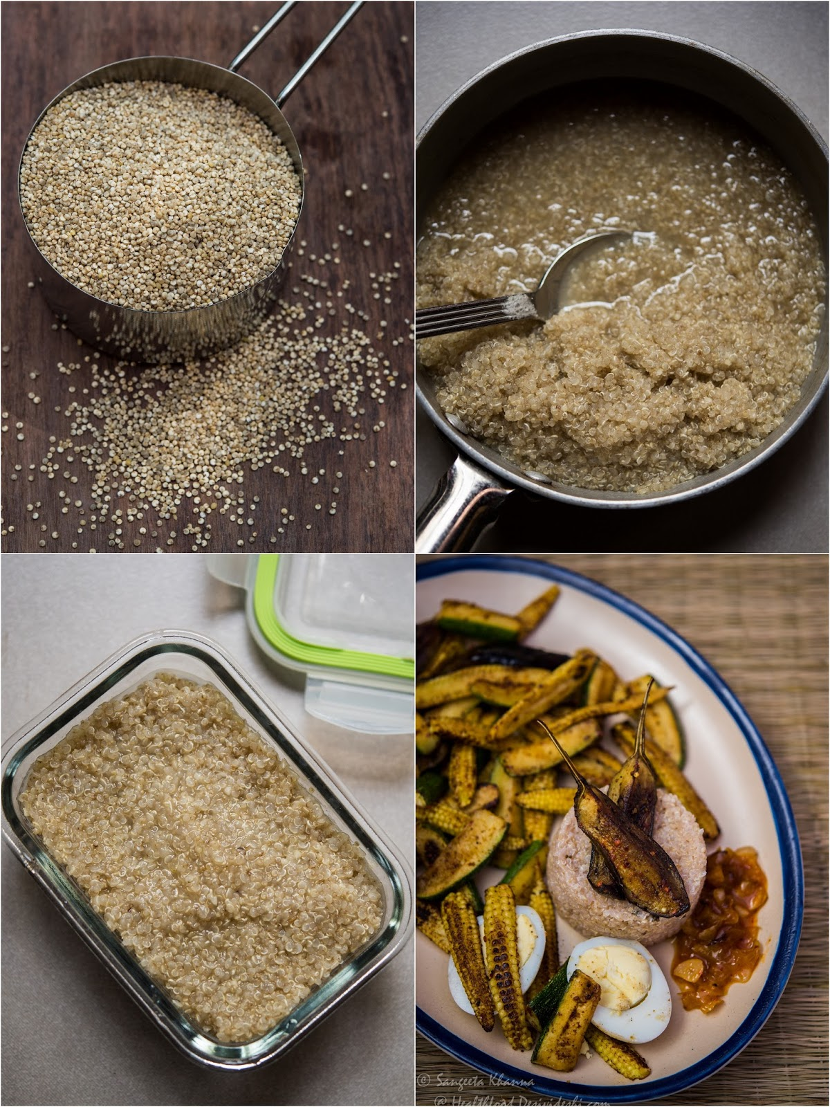 I Normally Cook Half A Cup Of Quinoa With A Hint Of Salt And Keep  Refrigerated For 34 Days Adding This Cooked Quinoa To My Soups And Other  Meals Is So