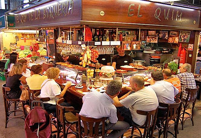 El Quim de la Boqueria Barcelona