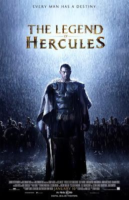 Poster oficial pentru filmul The Legend Of Hercules