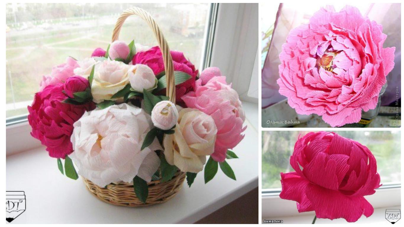 Como Hacer Arreglos Florales Con Papel Crepe Para El Dia De La Madre