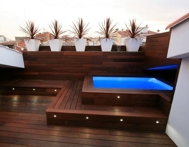 C mo construir piscinas peque as para espacios peque os for Piscinas en espacios muy pequenos