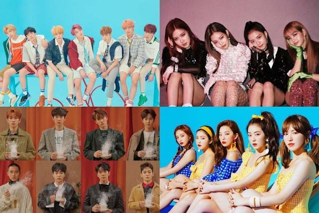 Melon Music Awards 2018 Telah Merilis Daftar Nominasi Top 10 Artist