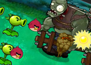Plants vs Zombies Angry Birds 9