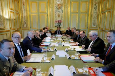 Attentat de Paris: ouverture de la réunion du Conseil de défense à l'Elysée dans - ECLAIRAGE - REFLEXION a7