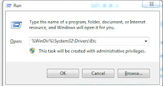 Cara Reset Ulang Host File